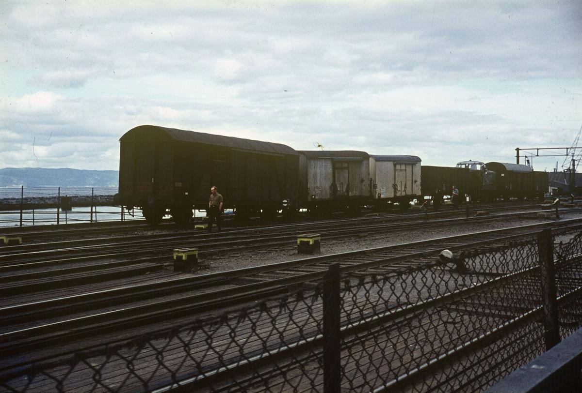 Avsporede godsvogner på Hamar stasjon