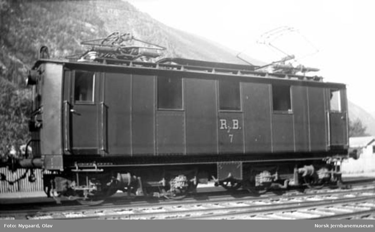 Rjukanbanens elektrisk lokomotiv nr. 1