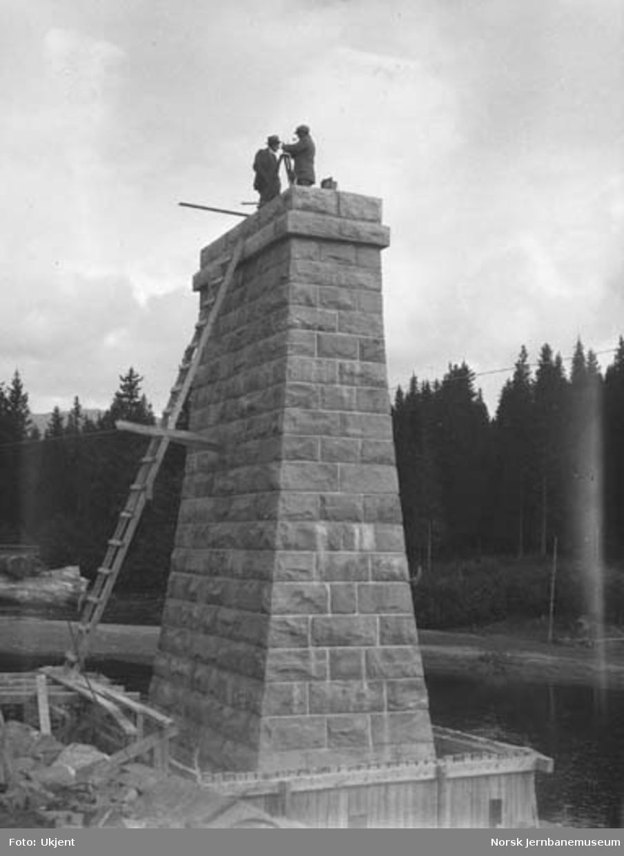 Bygging av Bjøra bru