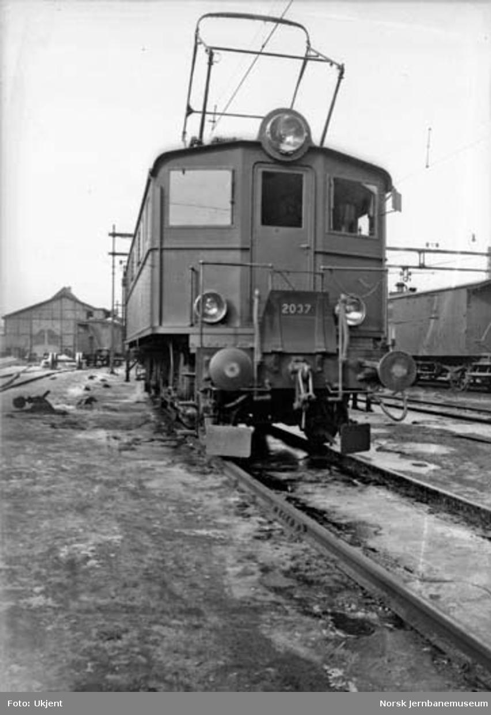 Elektrisk lokomotiv type El 5 nr. 2037