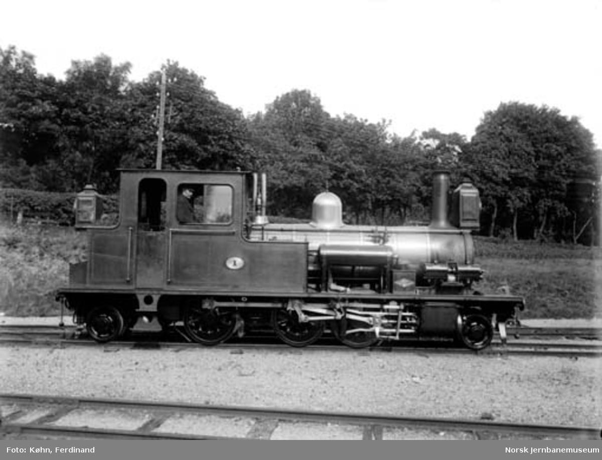 Setesdalsbanens damplokomotiv nr. 1