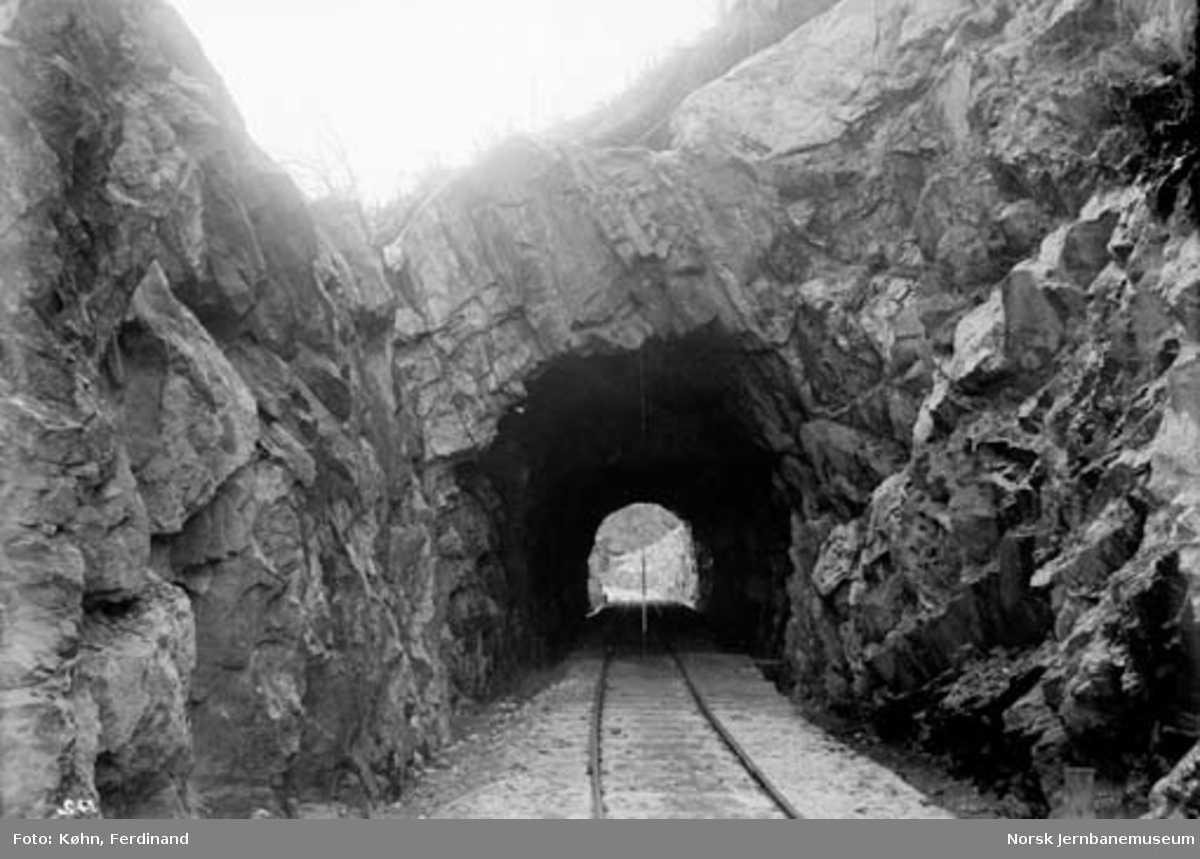 Mosby tunnel : nordre portal