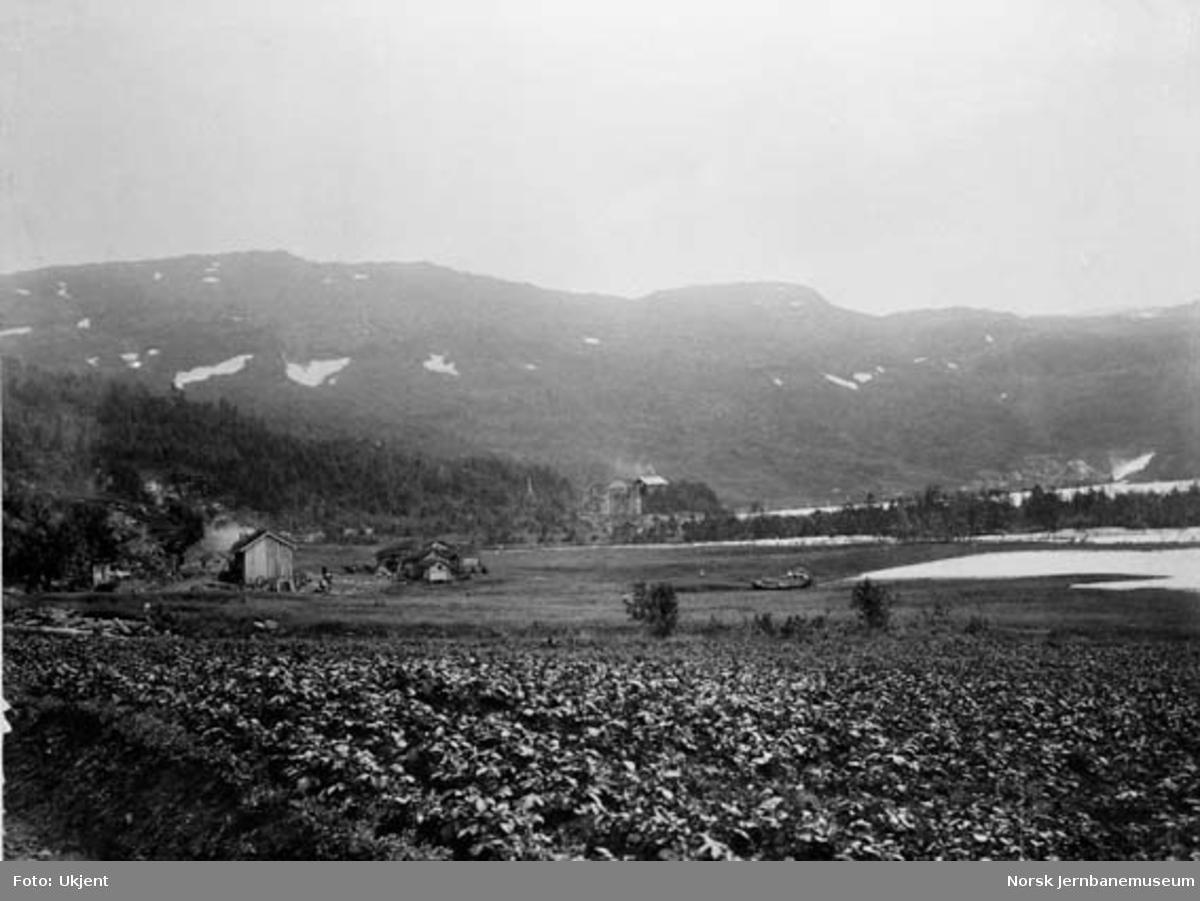 Sandnes (Lomi) før jernbanen kom