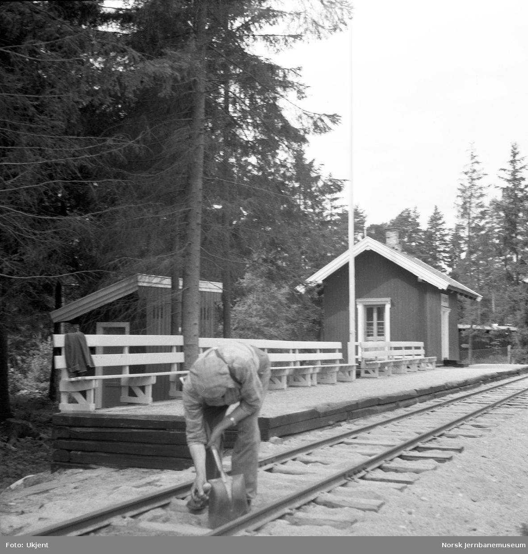 Killingmo stasjon på Jernbanemuseet