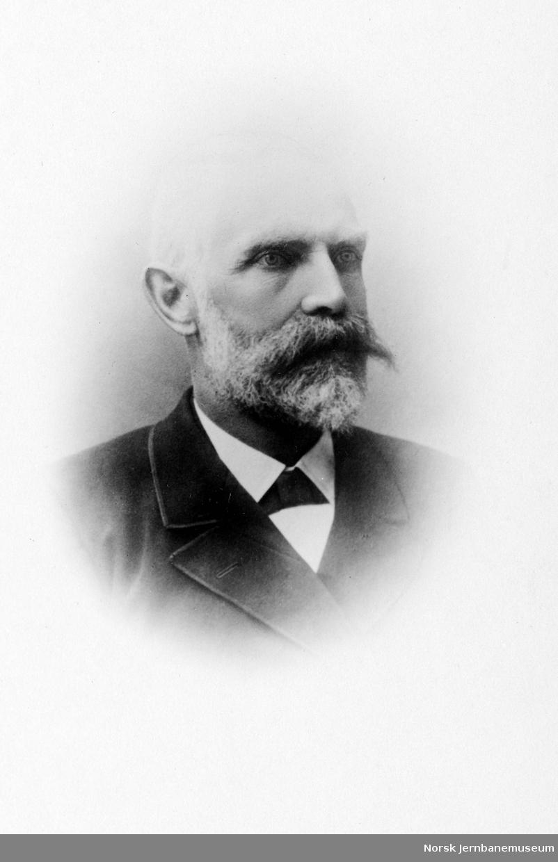 Portrett av distriktsingeniør Peder Nilsen