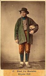 57. Mand fra Moedalen. (Bergens Stift)