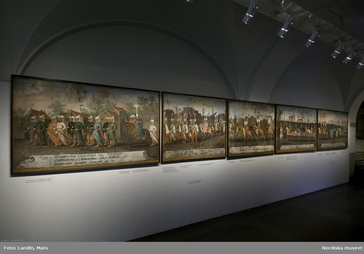 Utställning Rålambska tavlorna, 9 målningar visas 2007. Som sändebud för Karl X Gustav vistades krigsrådet Claes Rålamb nio månader i Istanbul 1657 - 1658. Efter hemkomsten lät Rålamb beställa en svit på 20 stora målningar som skildrade den unge sultanen Mehmed IV:s högtidliga procession genom Istanbul den 24 september 1657 på väg till den årliga höstjakten. Nio av de märkliga målningarna visaades under sommaren 2007 i museets hallplan.