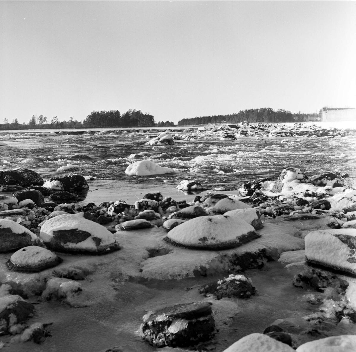 Vattendrag i Tierps kommun, Uppland 1973