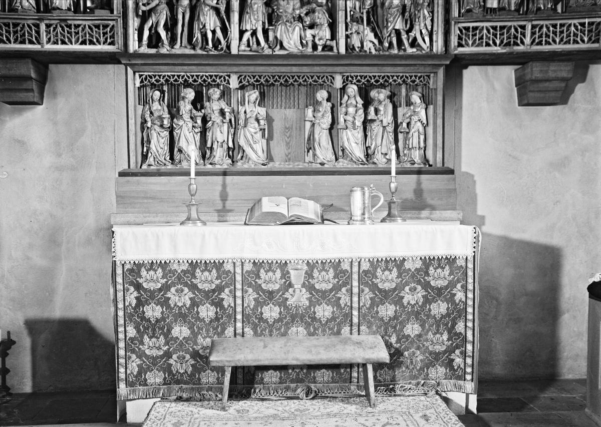 Altare i Vaksala kyrka, Vaksala, Uppsala 1947