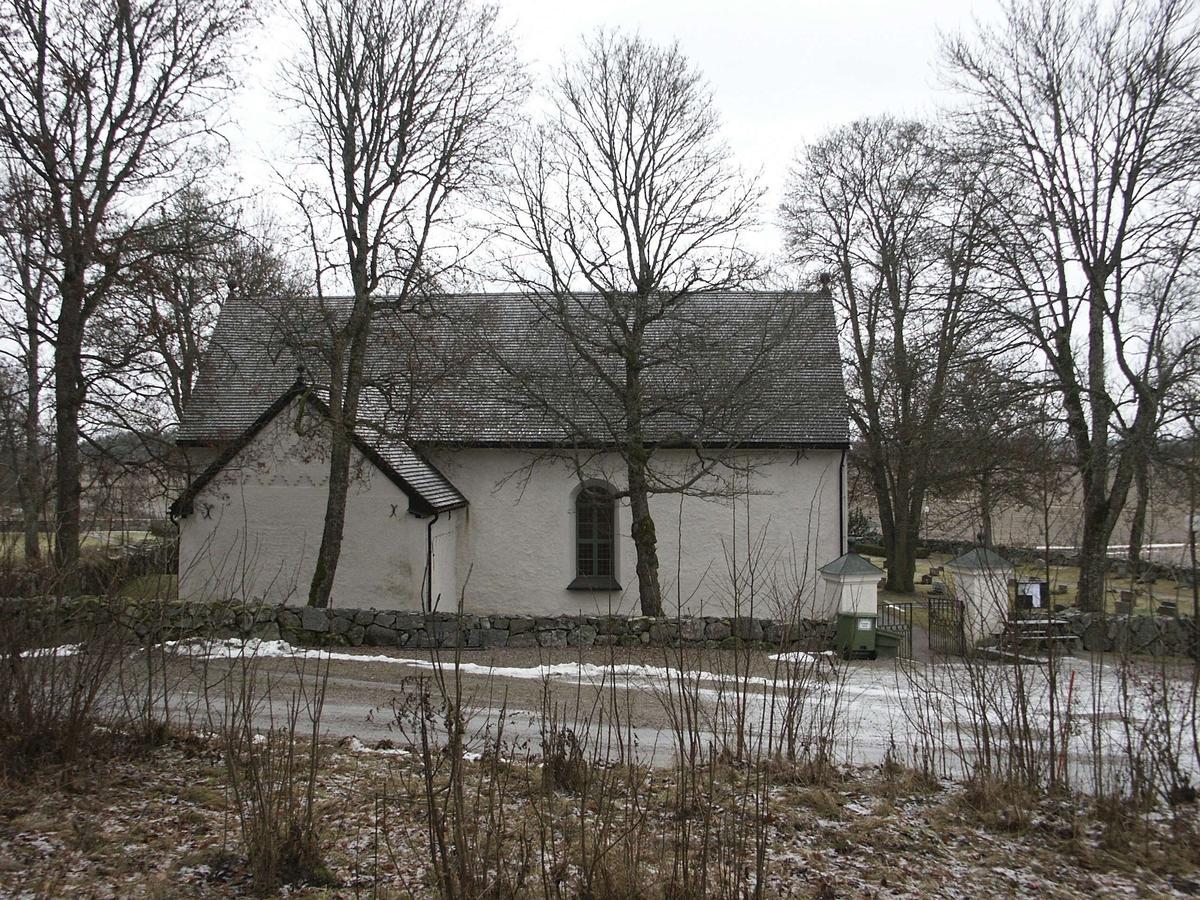Fröslunda kyrka, Fröslunda socken, Uppland november 2002