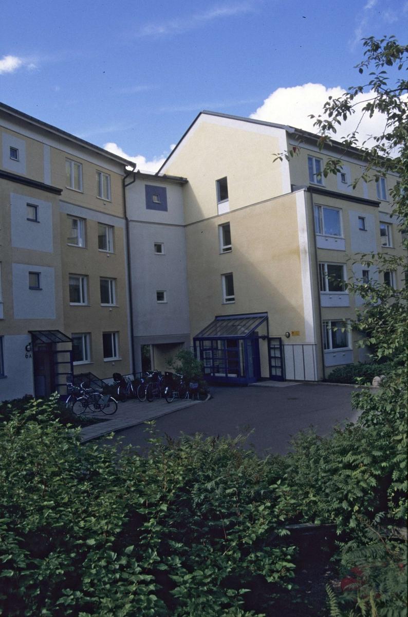 Verkmästargatan, kvarteret Arkitekten, Sala backe, Uppsala 2001