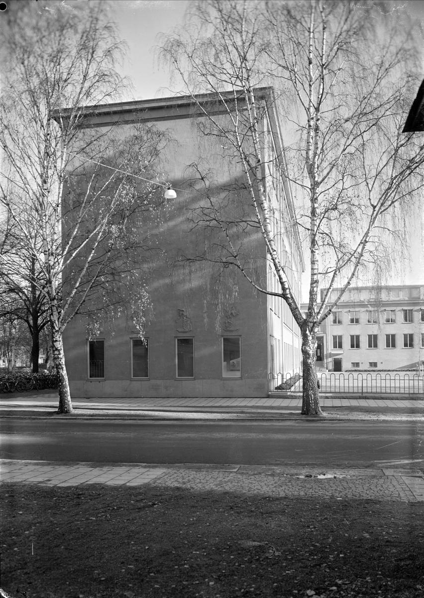 Nannaskolan, kvarteret Nanna, Kungsgatan, Uppsala 1948