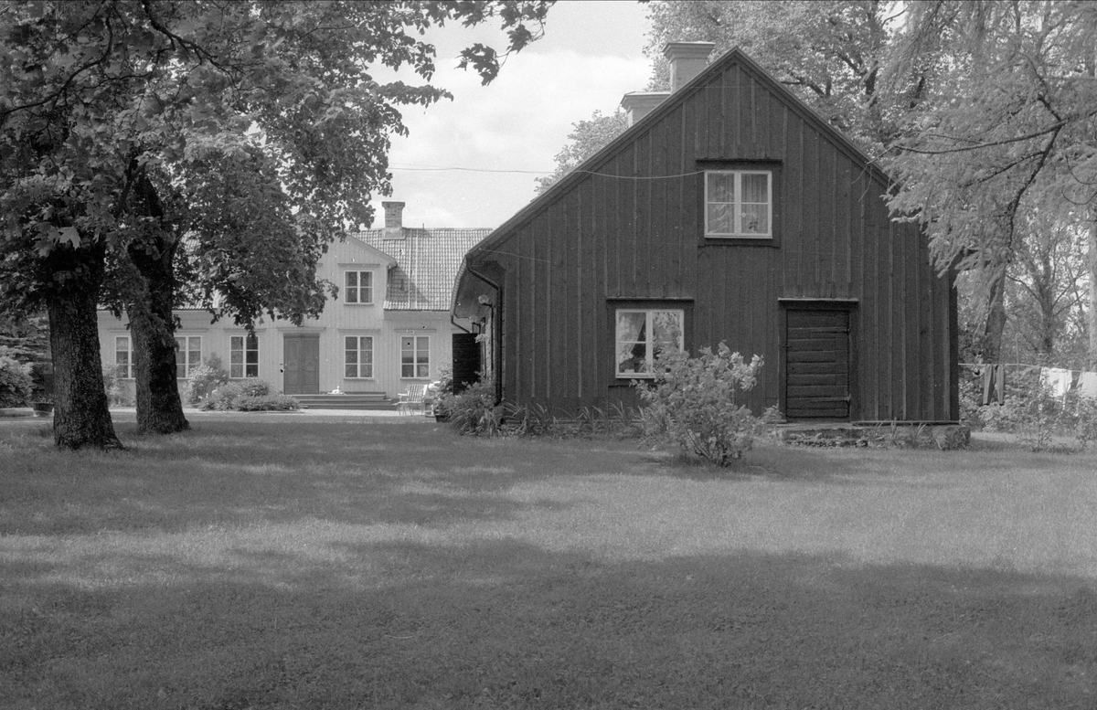 Bostadshus, Björkby 5:3, Gamla Uppsala socken, Uppland 1982