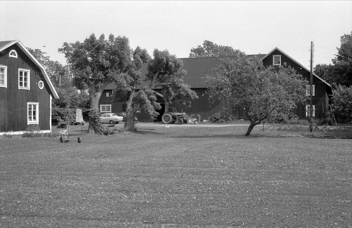 Bostadshus, Sundbro 22:3, Bälinge socken, Uppland 1983