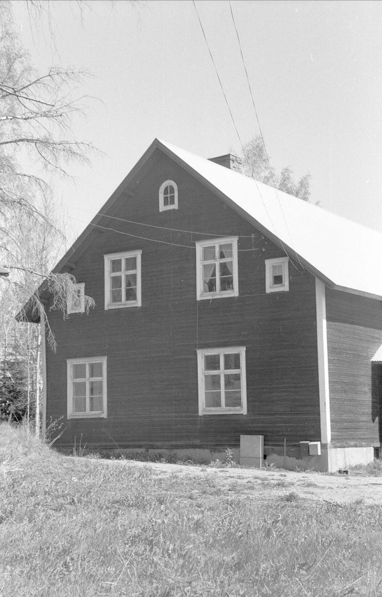 Före detta godtemplarlokal, Lyckås, Lyckebo, Ärentuna socken, Uppland 1977