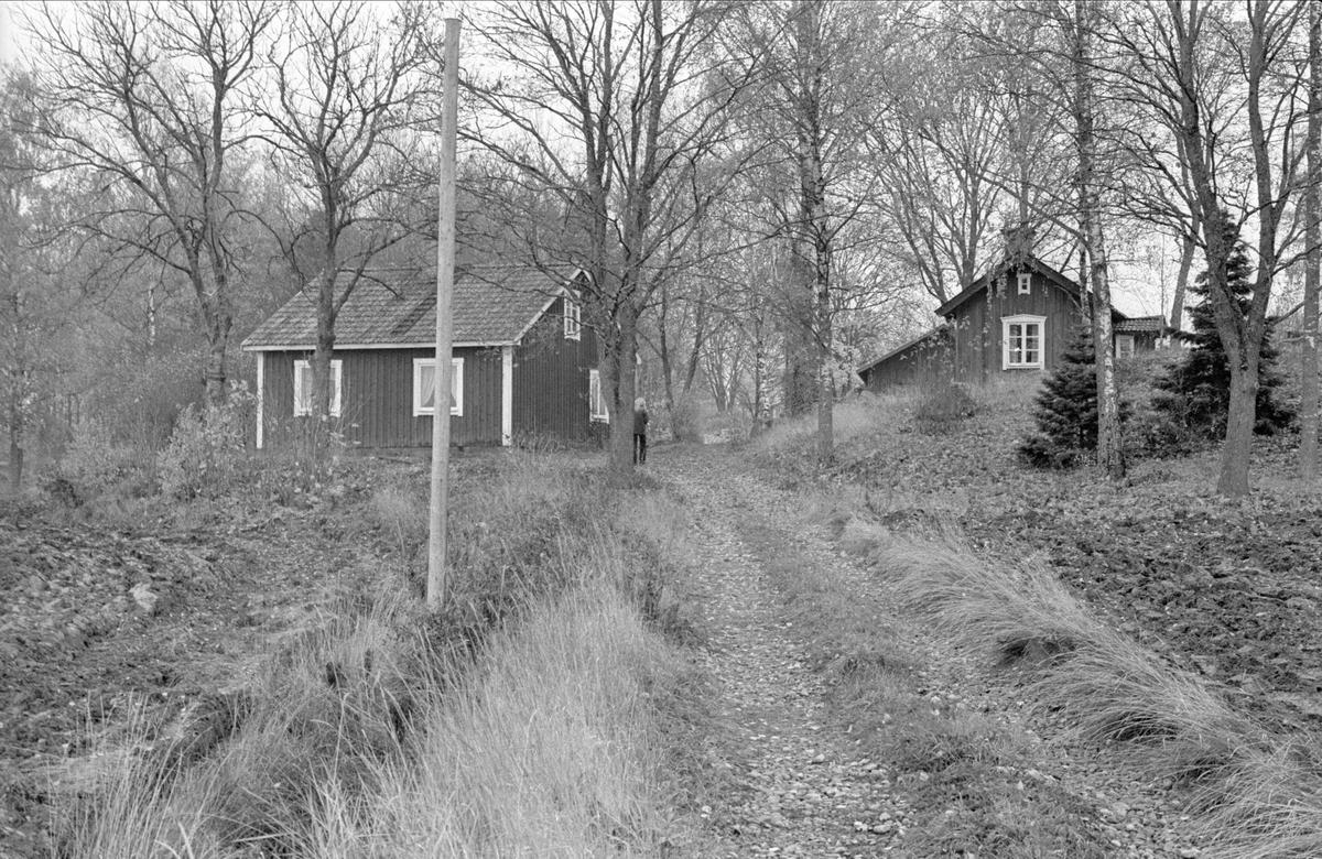 Vy över Fullerö, Gamla Uppsala socken, Uppland 1978