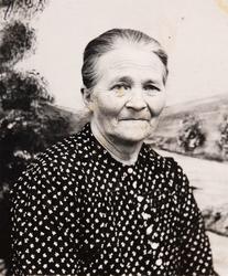 Portrett av Anne Marie Hægland.