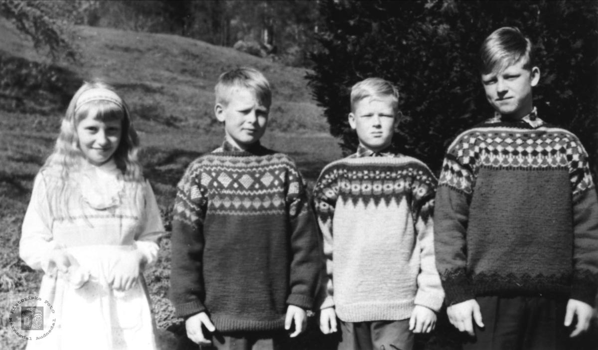Barnegruppe Skuland, Laudal.