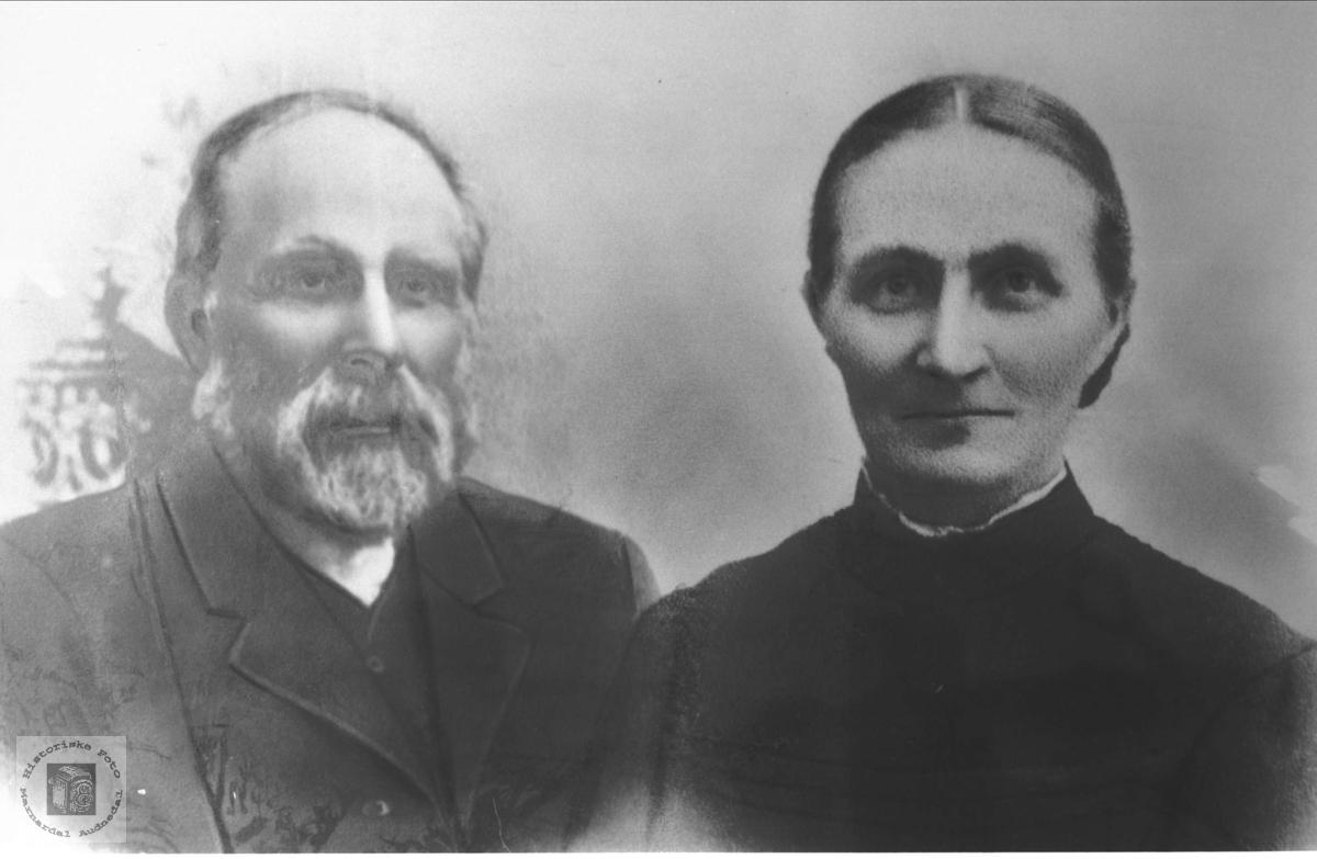 Ekteparet Ludvig og Karoline Eikås