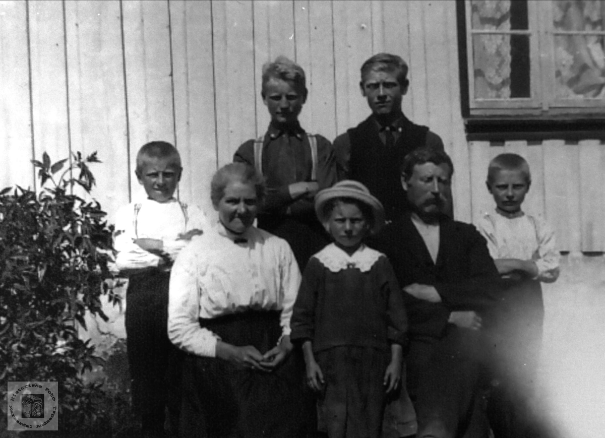 Familiegruppe Bue, Øyslebø.