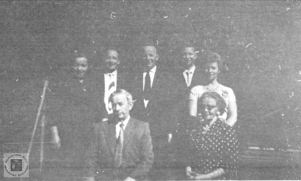 Ole Kolstad med familie
