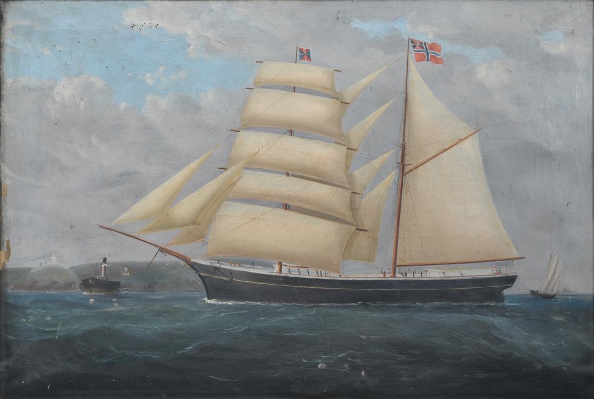 Skonnert 'Coulant' (b.1880)