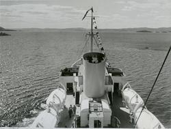 Eksteriør, passasjer- og lastebåten M/S Black Prince, B/N 47