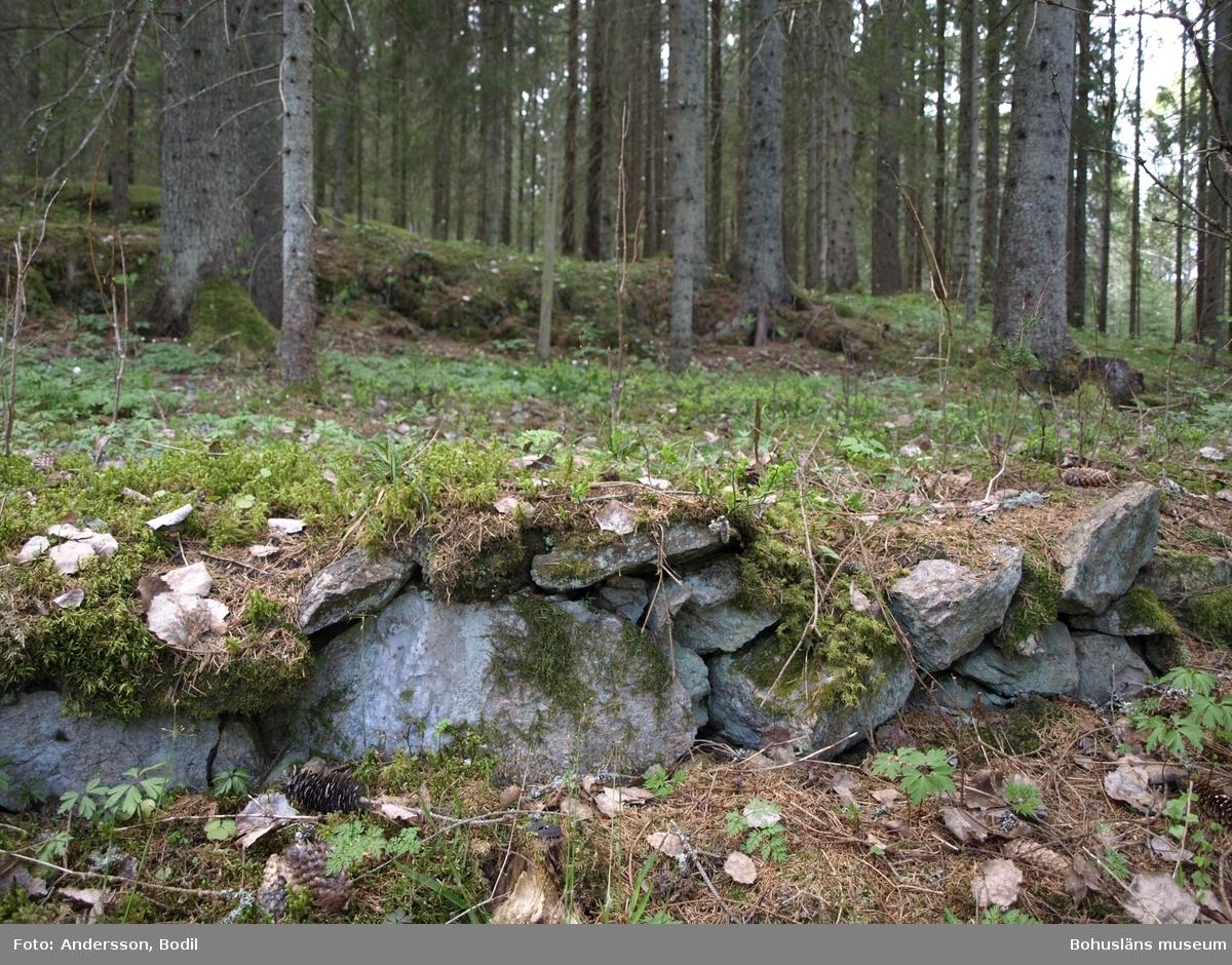 På platsen Buskane bodde en familj av resandesläkt i början av 1900-talet Landsvägen gick då strax intill och det finns också uppgifter om att platsen varit en lägerplats. Platsen har också kallats Skojartrakten och Skojarhålan.  På stedet Buskane bodde en familie av romanislekt på begynnelsen av 1900-talet. Landeveien gikk da like inntil, og det finnes også opplysninger om at stedet har vært en leirplass. Stedet er også kalt Skojartrakten og Skojarhålan.