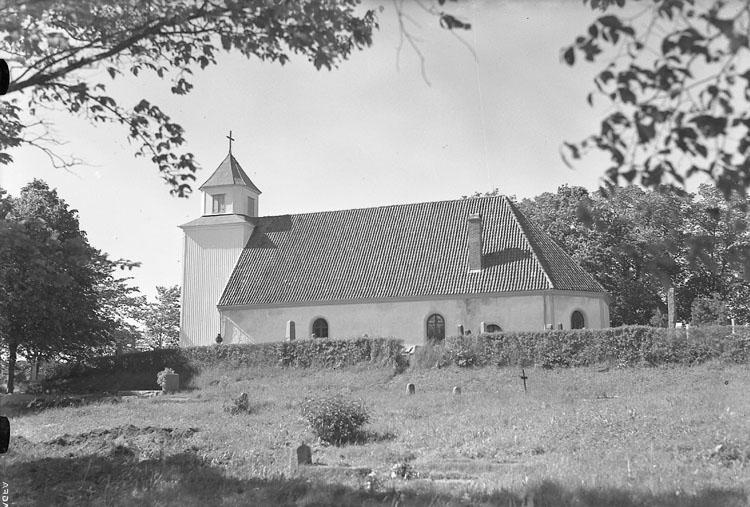 """Enligt AB Flygtrafik Bengtsfors: """"Romelanda kyrkan Bohuslän"""".      ::"""