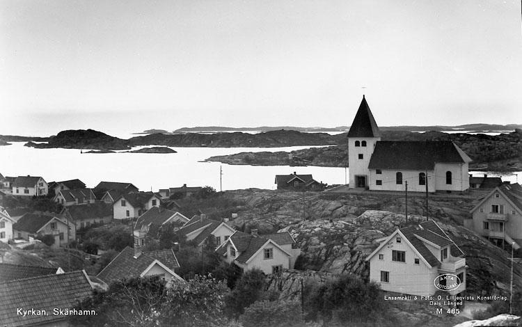 """Enligt AB Flygtrafik Bengtsfors: """"Skärhamn Bohuslän""""."""