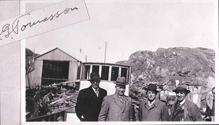 Beställare från Island på Hälleviksstrands varv