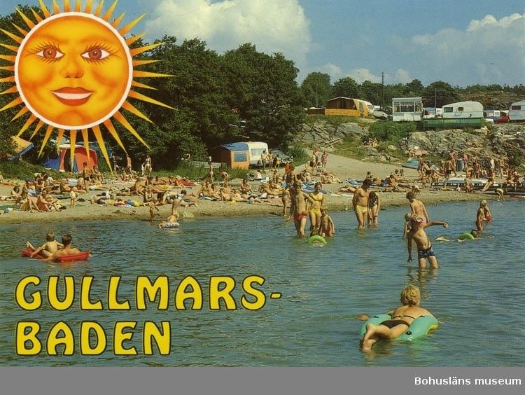 "Vykort. ""Gullmars-baden"""