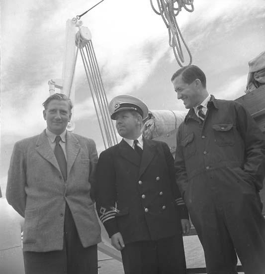 Leverans av fartyg 108 M/S Yngen.