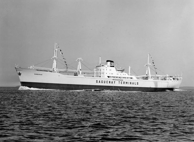 Provtur med fartyget 144 M/S Sungran.