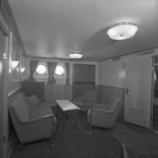Interiör från fartyg 181 T/T Gulf Swede.