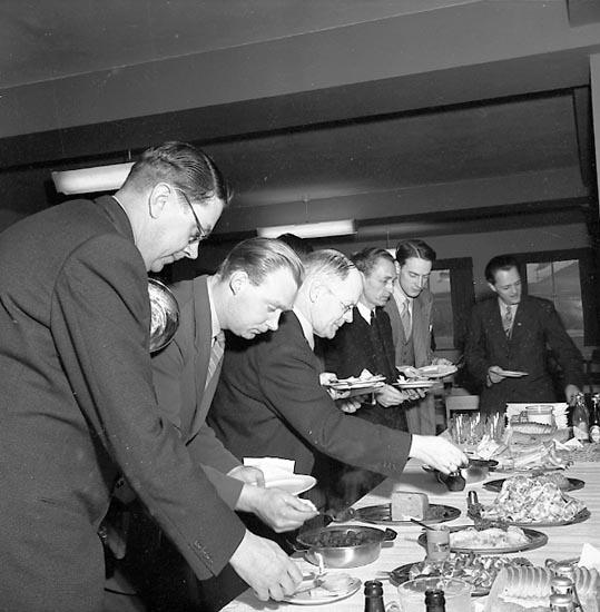 """Enligt notering: """"V.S.S. Pressvisning Nov 1950""""."""