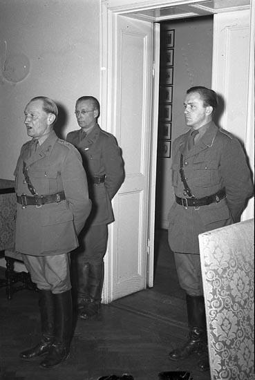 """Enligt notering: """"Överste Öberg och Sellin 20/8 1948""""."""