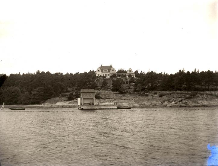 Ljungskileresan den 27 Juli 1922. 2 st. Stenungsön. 1 st. E.J.