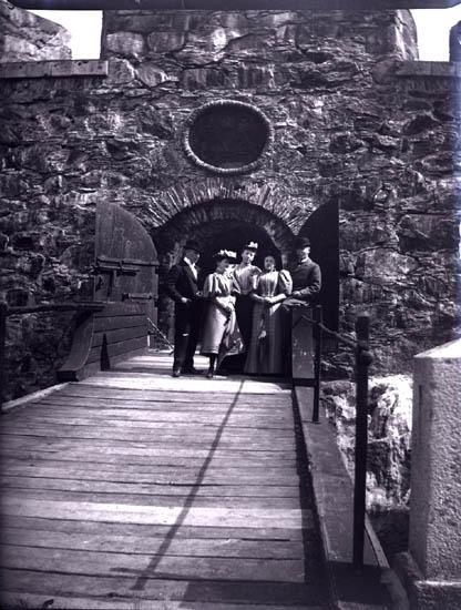 På fästning, 12/5 1895.