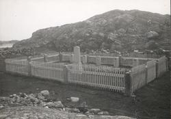 Krigskyrkogården på Stora Risholmen 1924