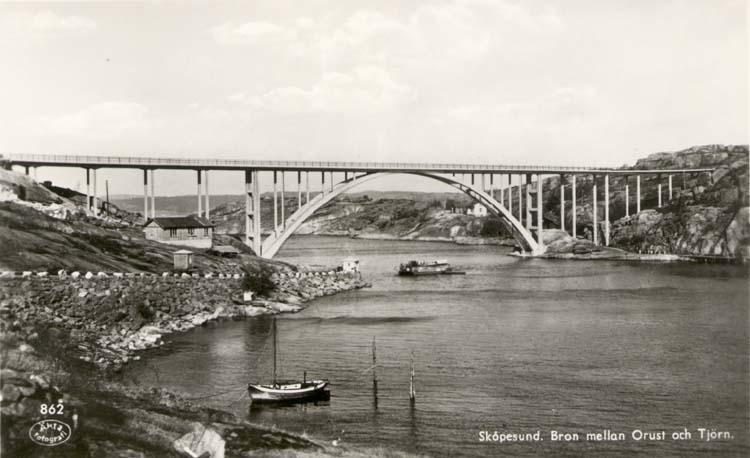 Skåpesundsbron 1939