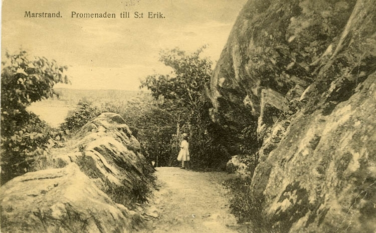 Marstrand. Promenaden till S:t Erik.