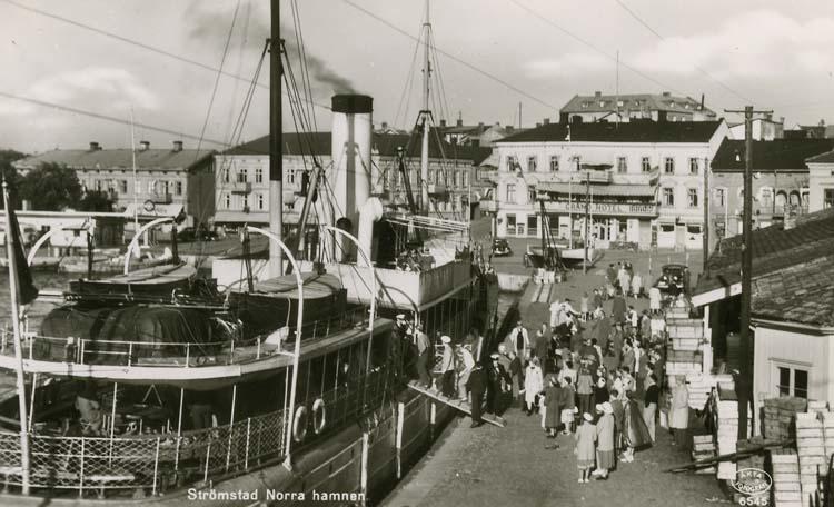 Strömstad. Norra hamnen.