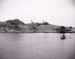 Ursholmens fyrplats på Tjärnö omkring 1900