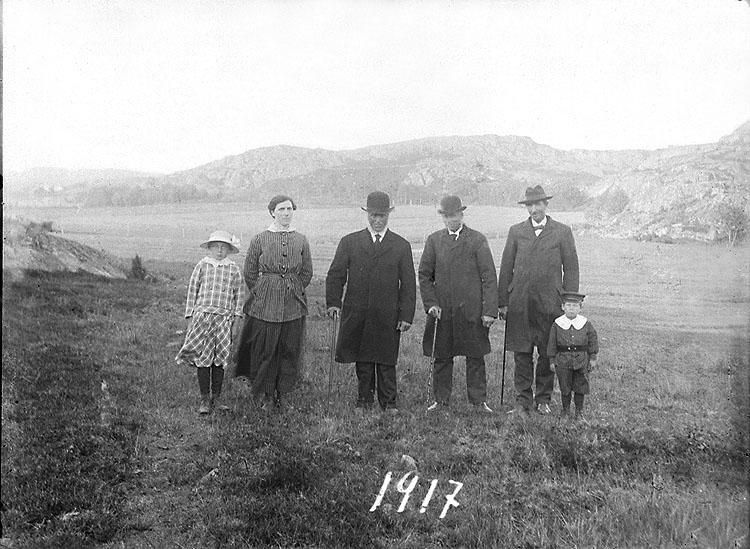 Uppställda för fotografering 1917