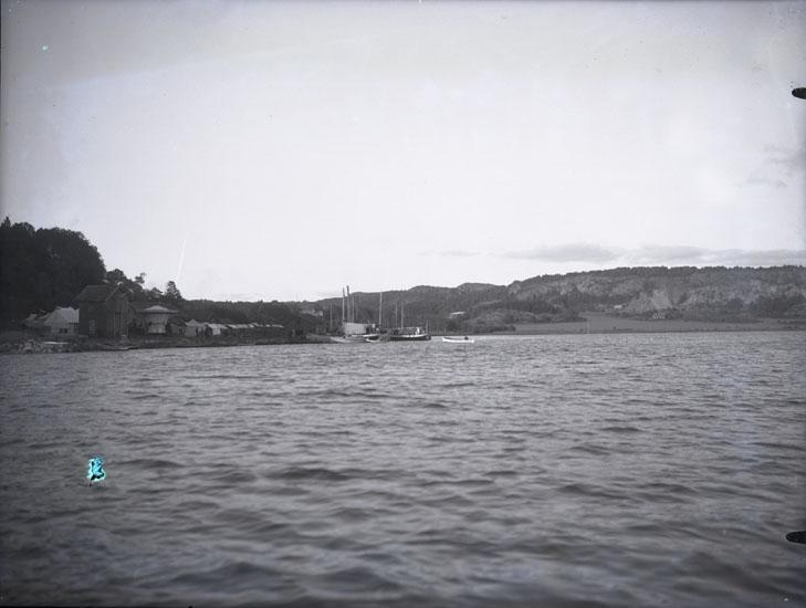 """""""Saltkällans Marknadsplats omkring 1920."""""""