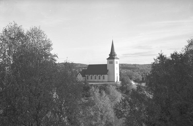 """Enligt fotografens noteringar: """"1949. 15. Kapellet okt tagit. inskrifven på 10x15 i adressboken?""""."""