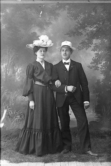 Anna Sofia och Anders Bohlin 1905