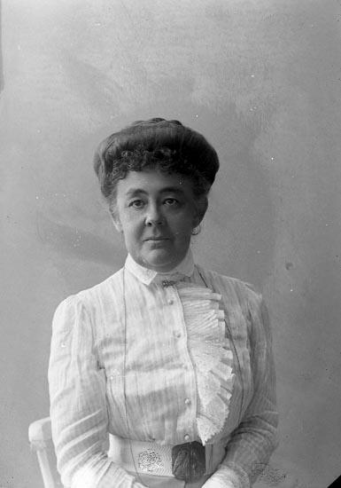 """Enligt fotografens journal nr 2 1909-1915: """"Stjärnspetz, Majorskan Ön""""."""