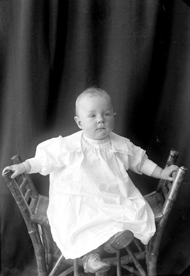 """Enligt fotografens journal nr 2 1909-1915: """"Fahl, Elisabeth Här""""."""